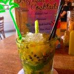 The Passionfruit Mojito!