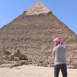 Photo of Khafre's Pyramid