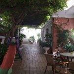 Great Wi fi here and good area to enjoy an aperitivo or play cards etc...