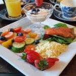 Israeli breakfast welsh style - delicious!!!!