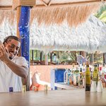 Laluna's sunset bar and lounge. Daily happy hour and live music Sundays