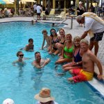 Relaxing w/Friends at the Tampa Bay Beach Boppers Dance Event