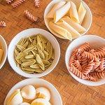 Gluten free pasta options available at Laluna's Italian restaurant
