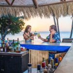 Laluna's Sunset Bar with daily happy hour and live music Sundays