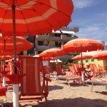 Spiaggia hotel Astor