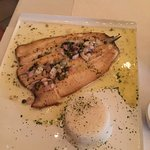 Rainbow trout with rice