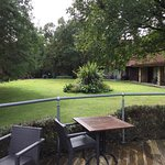 View from decking towards Executive rooms