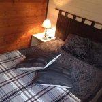 chambre chalet bois