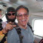 In the jump plane, Range is behind me (duh!)