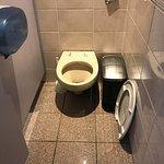 Ladies toilets in reception