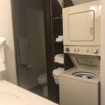 1/2 Bathroom only has a shower. Washer/Dryer included.
