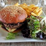 Burger bleu du Vercors