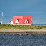 Maison rouge aux Escoumins