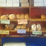 Freshly baked breads