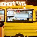 The food truck in Santiago