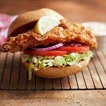 Red Gulf Grouper Sandwich