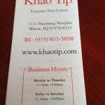 A destination Thai restaurant