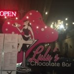 Lulu's Chocolate Bar.....leave calorie counting at the door