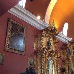 Detalle Iglesia María Magdalena en el distrito de Pueblo Libre (Lima, Perú)