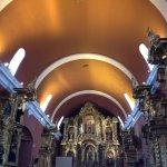 Interior Iglesia María Magdalena ubicada en el distrito de Pueblo Libre (Lima, Perú)