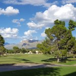 Golf Course and Mountain View