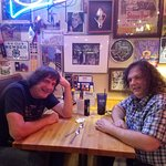 Marty Animal (left) and Micheal Nitro (right) at TEXAZ Grill. May 2017