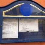 lista menu'