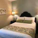 Recently renovated Room #16!  Queen Ensuite!