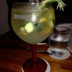 refrescante whiskey cooler