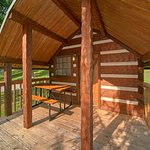 Cozy, comfortable camping cabins.....a twist to roughing it