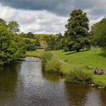 Derbyshire RIver Wye at Bakewell