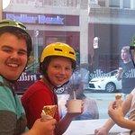 Millie's Ice Cream stop on tour