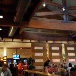 Bright, open area of restaurant, but a little noisy.