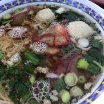 Pork noodle bowl