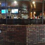 Bar and main entrance