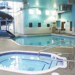 Indoor Pool with 3-Storey Waterslide
