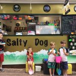 Happy Children at the Salty Dog