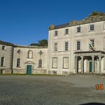 Strokestown Manor House, Famine Museum in wing to left