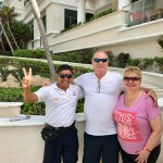 Salvador, our pool butler has the biggest heart, so kind & helpful!