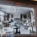 A picture of the dining facilities circa turn-of-the-century.