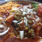 Carne Adovada Enchiladas X-mas