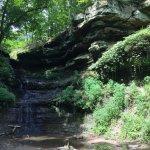 A waterfall?