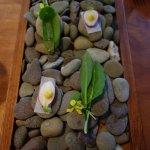 Beautiful snacks, stones NOT edible!