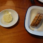 Sourdough bread with seawood butter