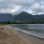 Beach @Hanalei Pier