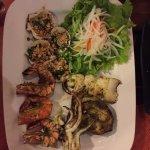BBQ sea food