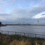 View of new Mersey Gateway Bridge.