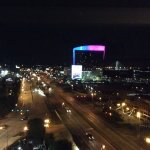 View from Room 1403 and the Mississippi River is off to the right