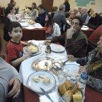 Mi sobrino, y mis papas Mariano y Lidia