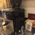 Coffee and Tea facility on 5th floor